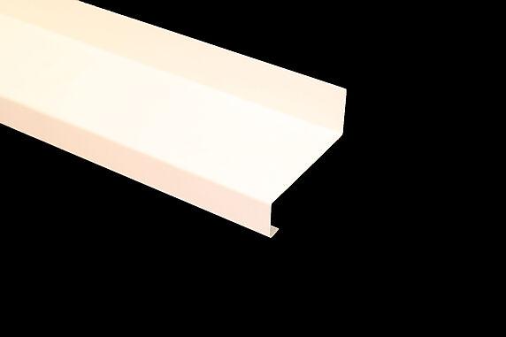 vindusbesl over 95x1400mm hvit