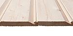 Dobbelfalset utvendig kledning 28° enkelstaff 19x148 mm ubehandlet gran