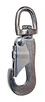 Karabinkrok 38 mm blå pakke a 2 stk