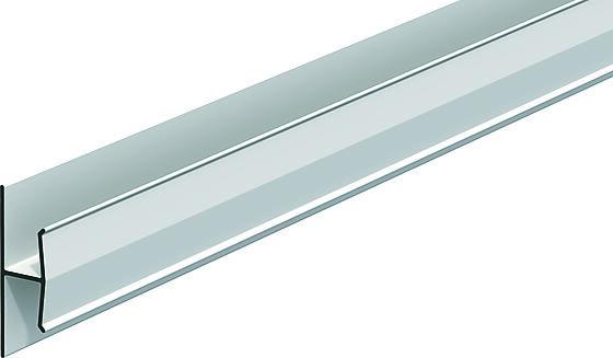 Tetningsprofil H9 3 meter hvit PVC til vindtettingsplater