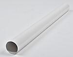 Nedløpsrør hvit 75 mm 3 m