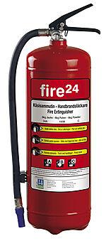 Brannslukker fire24 6kg 34a 2 33b