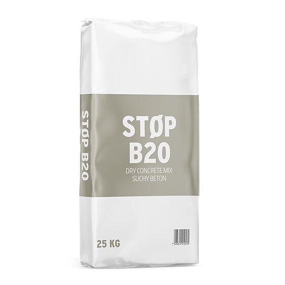 Tørrbetong B20 25 kg