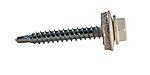 Farmerskrue 4,8X35 hvit A200 frs-Hx sekskant bits pipe 8 mm