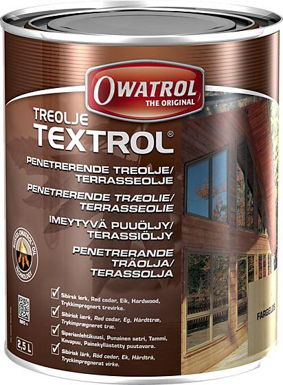 Textrol treolje fargeløs 2,5 liter