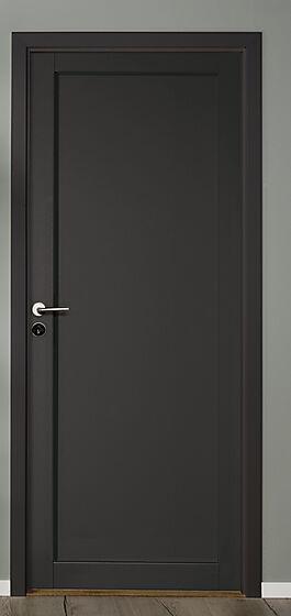 Prima innerdør sort 80x210 cm