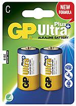 Batteri ultra plus alk c/lr14 gp 14aup-c2 2 stk