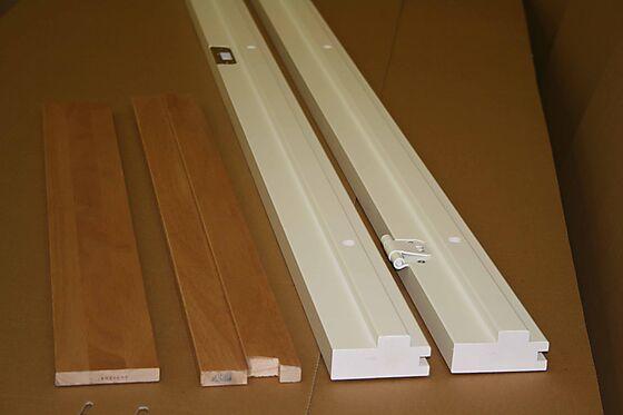 Scanflex karmsett hvit 80x210 cm