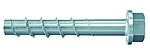 Betongskrue UC FBS II 10x60 A50 ultracut elforzinket 6-kant