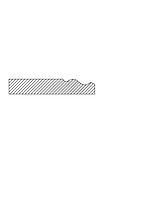Utvendig listverk 21x120 mm impregnert furu