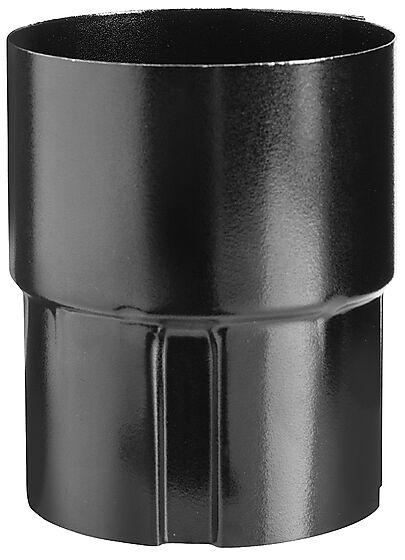 Skjøtemuffe 22 sort 75 mm