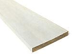 22x198 mm impregnert rektangulær kledning grunnet hvit furu klasse 1
