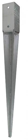 Stolpespyd 75x75x750 mm varmgalvanisert