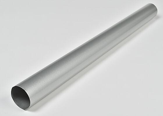 Nedløpsrør 3 meter silver Ø75 mm