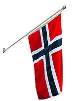 Balkongflagg Snurre 150 cm m/flagg 100 cm