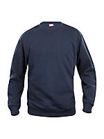 Basic genser rund hals 021030 Marine 3XL