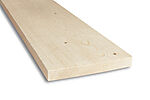 Kledning rektangulær ubehandlet 19x148 mm gran klasse 1