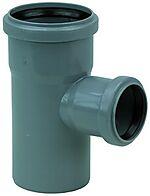 Grenrør PP/I 50x50 mm 88,5° 2 muffer