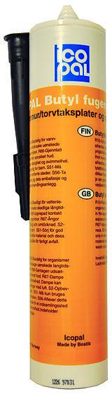 Fugemasse butyl 0,31 liter