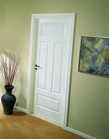 Style 04N innerdør 80x210 cm hvit