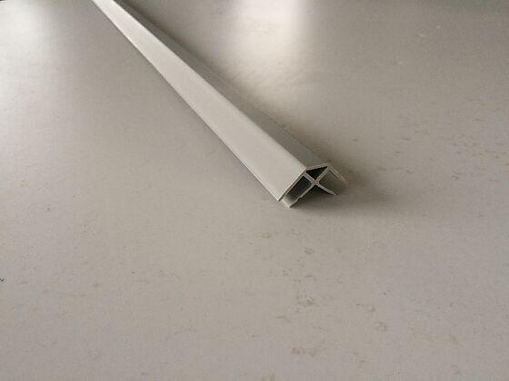 Ringmur skjøtelist hjørne 25x400x25 mm