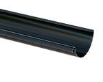 Takrenne sort 150 mm 4 m