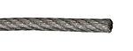 Wire 4/5mm 10m elforzinket/pvc