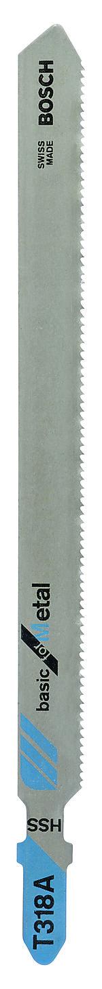 Stikksagblad t318a 106 mm a5 universal fint