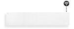 Panelovn glass wifi 1000 watt
