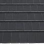 Normalstein turmalin glasert sort