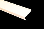 Vindusbeslag under 95x1400 mm hvit