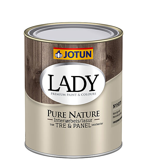 Lady Pure Nature interiørbeis klar 0,68 liter