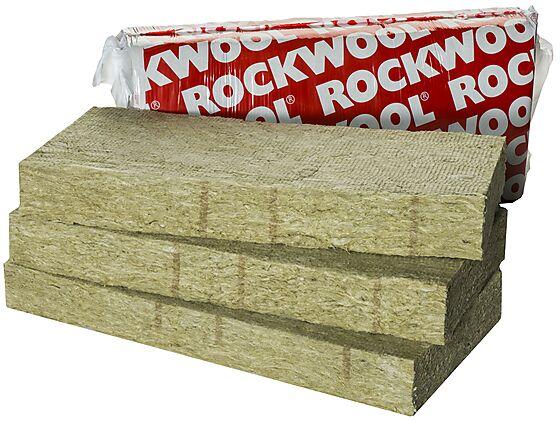 Rockwool isolasjon 98x575x1200 mm Flexi A-plate 6 stk plater / 4,14 m2 pr pk