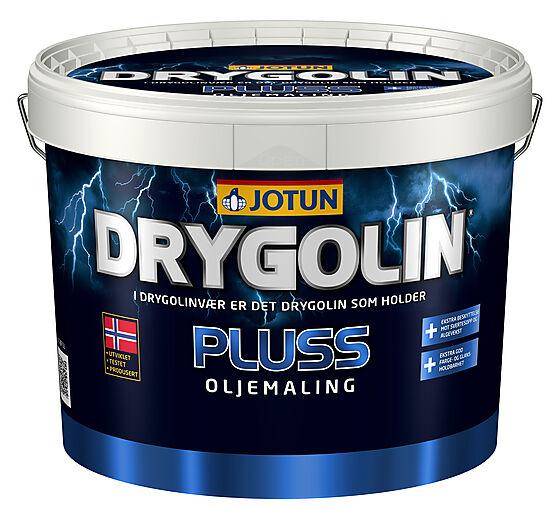 Jotun Pluss oljemaling hvit 10 liter