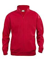 Basic jakke 021038 Rød 3XL