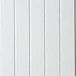 Veggplate MDF skygge skrå hvit 11x620x2740 mm