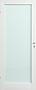 Scanflex Trend 1 dørblad hvit m/ glass 90x210 cm