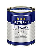 Gulvlakk oljebasert silkematt 0,75 liter Trestjerner