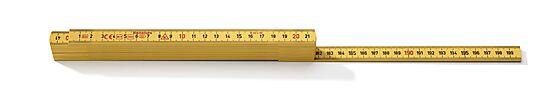 Tommestokk GLF G59-2-10 glassfiber 2 meter