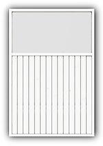 Levegg plus 1-g 120x180 cm hvit mellomstrøk