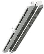 Spalteventil W400 40 cm innvendig og utvendig