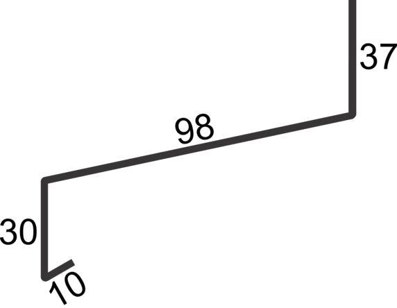 """vindusbsl 4"""" over 2,0m hvit"""