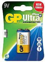 Batteri ultra plus 9 volt alkalisk