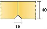 Himlingsplate Super Nova A 17x600x600 mm