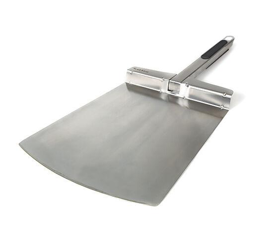 Pizzaspade bred rustfritt stål