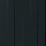 Veggplate MDF fas sort dempet 11x620x2390