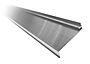 Vannbord aluminium under 5128 blank 1,65 m