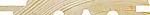 Skyggepanel m/ skråkant natur 13x145 mm ubehandlet gran