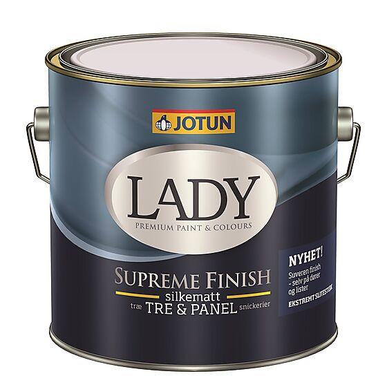 Lady Supreme Finish 15 hvit 2,7 liter