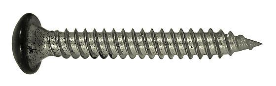Skruer til stål takpanner sort 500 stk 35 mm